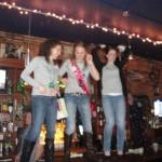 Dancing on the bar